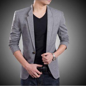 vest xám tro màu của phong cách