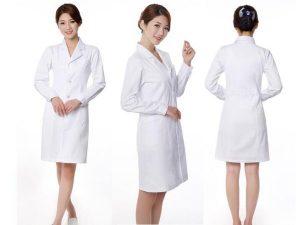 đồng phục bác sĩ nữ