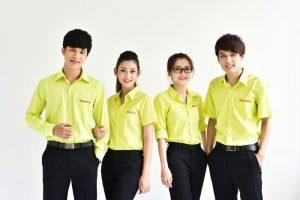 may đồng phục đẹp giá rẻ tại tphcm