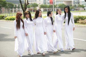 áo dài cho học sinh