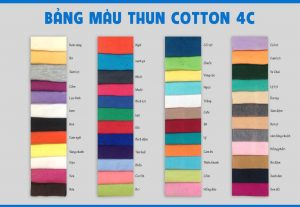 bang mau cotton 100%