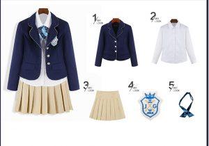 bộ đồng phục học sinh hàn quốc đẹp