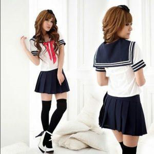 Váy học sinh cấp 3 phong cách hàn Quốc