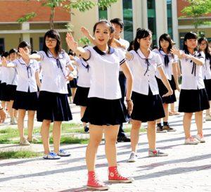 áo somi học sinh cấp 2