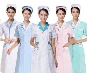 các mẫu áo blouse y tá