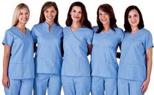 may đồng phục ngành y tế