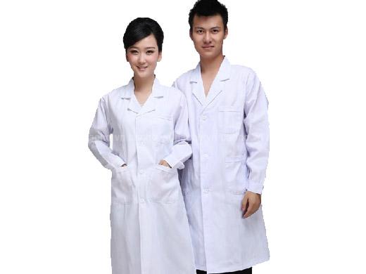 may đồng phục áo blu bác sĩ
