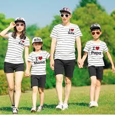 đồng phục gia đình 4 người đẹp 3222